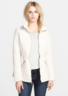 GUESS Drawcord Waist Quilted Jacket