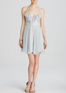 GUESS Dress - Julia Ruffle Stripe