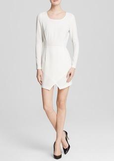 GUESS Dress - Long Sleeve Wrap Skirt