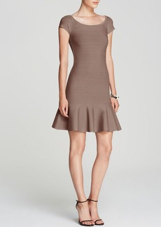 GUESS Dress - Off Shoulder Bodycon Flounce