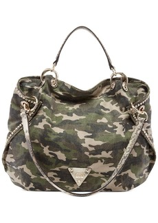 GUESS Dylan Canvas Satchel