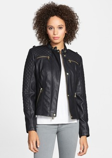 GUESS Faux Leather Jacket (Online Only)