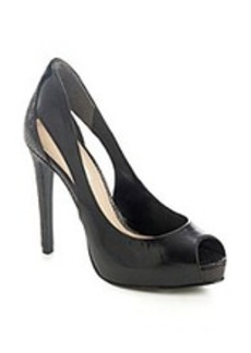 "Guess ""Harrah"" Platform Pump with Side Cut-Outs"