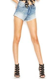 GUESS High-Rise Skinny Jean Shorts, Brit Pop Wash