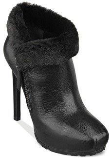 GUESS Ivorie Platform Faux-Fur Booties