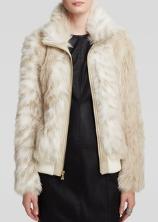 GUESS Jacket - Faux Fur