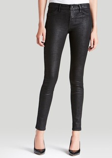 GUESS Jeans - Power Skinny Foil Snake Print