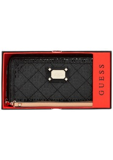 GUESS Juliet Boxed Large Zip Around Wallet