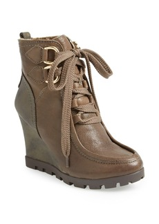 GUESS 'Lanni' Wedge Bootie (Women)