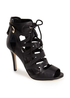 GUESS 'Larkee' Leather Cage Sandal (Women)