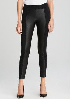 GUESS Leggings - Ponte and Faux Leather