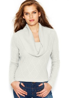 GUESS Long-Sleeve Cowl-Neck Sweater
