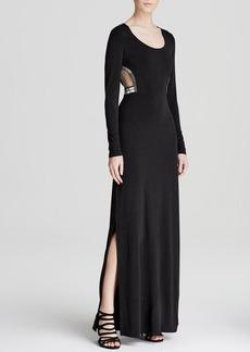 GUESS Maxi Dress - Cutout Beaded