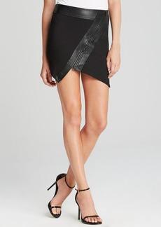 GUESS Mini Skirt - Asymmetric Ponte