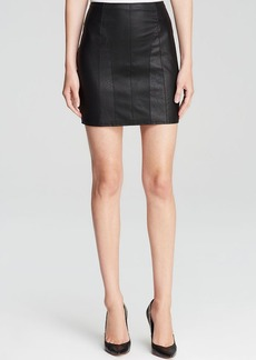 GUESS Mini Skirt - Faux Leather Embossed Snakeskin