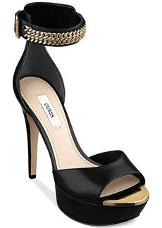 GUESS Ornica Two Piece Platform Sandals