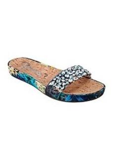 """GUESS """"Padalis"""" Jeweled Sandals"""