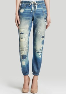 GUESS Pants - Lounge Digital Denim Print