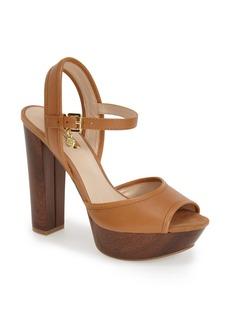 GUESS 'Pursey' Quarter Strap Sandal (Women)