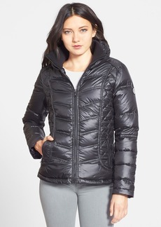 GUESS Shawl Collar Quilted Puffer Jacket (Online Only)