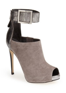 GUESS 'Shilvy' Ankle Strap Peep Toe Bootie (Women)