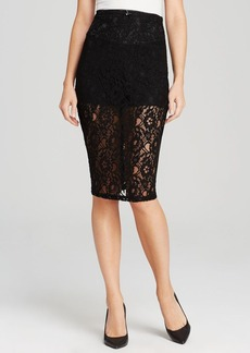 GUESS Skirt - Deanna Floral Lace
