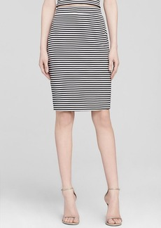 GUESS Skirt - Striped Pencil