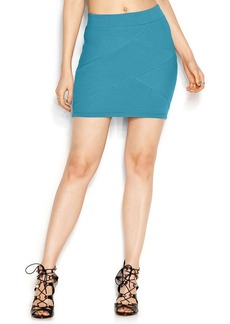 GUESS Textured Body-Con Skirt