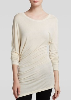 GUESS Top - Long Sleeve Asymmetric