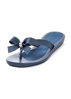 """GUESS """"Tutu"""" Flip-Flops with Bow Detail"""