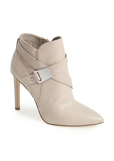 GUESS 'Valari' Leather Pointy Toe Bootie (Women)