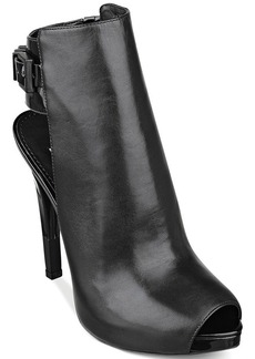 GUESS Women's Catea Platform Booties