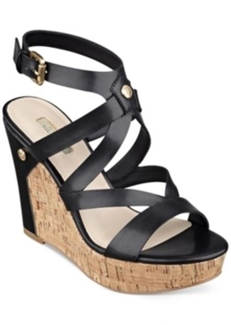 Wonderful GUESS Womens Vonnie Sandals  Justfabsite