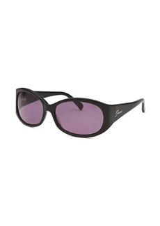 Guess Women's Oval Black Sunglasses