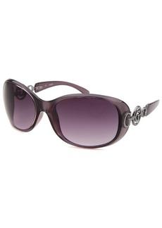Guess Women's Oval Purple Sunglasses