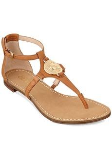 GUESS Women's Rafiya T-Strap Flat Sandals