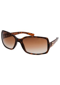 Guess Women's Rectangle Tortoise Sunglasses