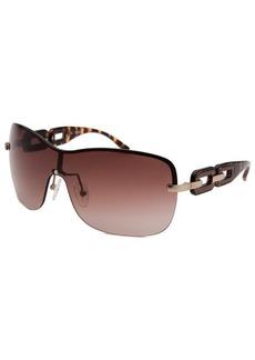 Guess Women's Shield (64 mm) Gold-Tone Sunglasses
