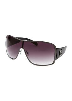 Guess Women's Shield Black Sunglasses