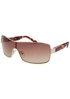 Guess Women's Shield Gold-Tone Sunglasses