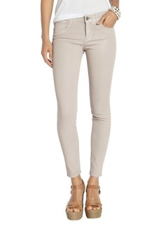 Habitual ballet coated stretch cotton 'Angelina Cigarette' jeans