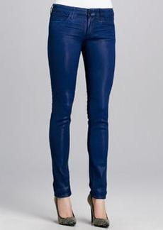 Habitual Denim Alice Coated Skinny Jeans, Prussian Blue