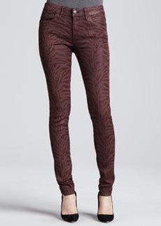 Habitual Denim Eve Hi-Rise Skinny Jeans, Chianti Tiger