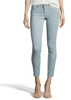 Habitual fresh moss coated stretch cotton 'Angelina Cigarette' jeans