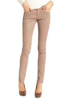 Habitual kiss khaki wash stretch cotton 'Magic Coated Alice' skinny jeans