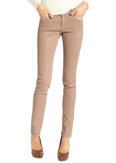 Habitual kiss khaki wash stretch cotton 'Magic Coated Alice' skinny jeans