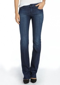 Habitual parrot wash stretch cotton 'Gryhon' mini bootcut jeans