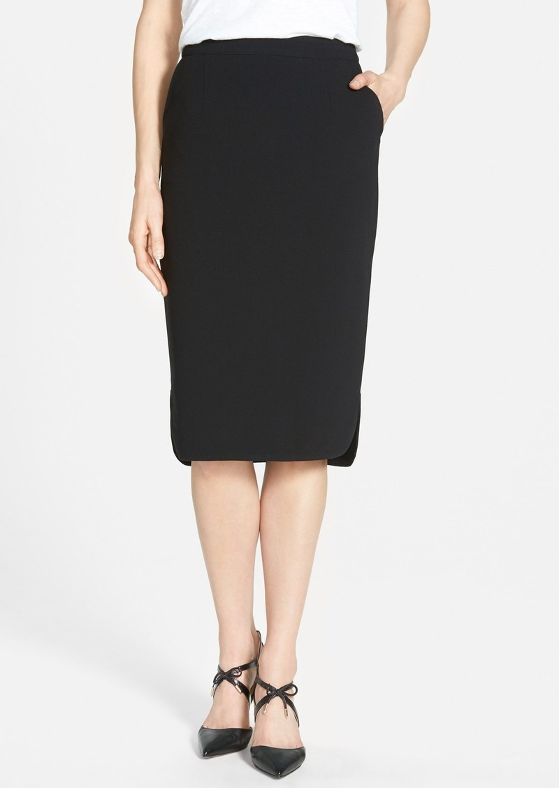halogen halogen 174 side vent midi pencil skirt skirts