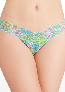 Hanky Panky + Lilly Pulitzer Checking In Low Rise Thong