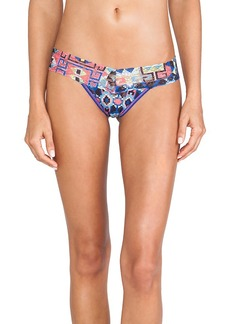 Hanky Panky 8-Bit Aztec Low Rise Thong in Blue